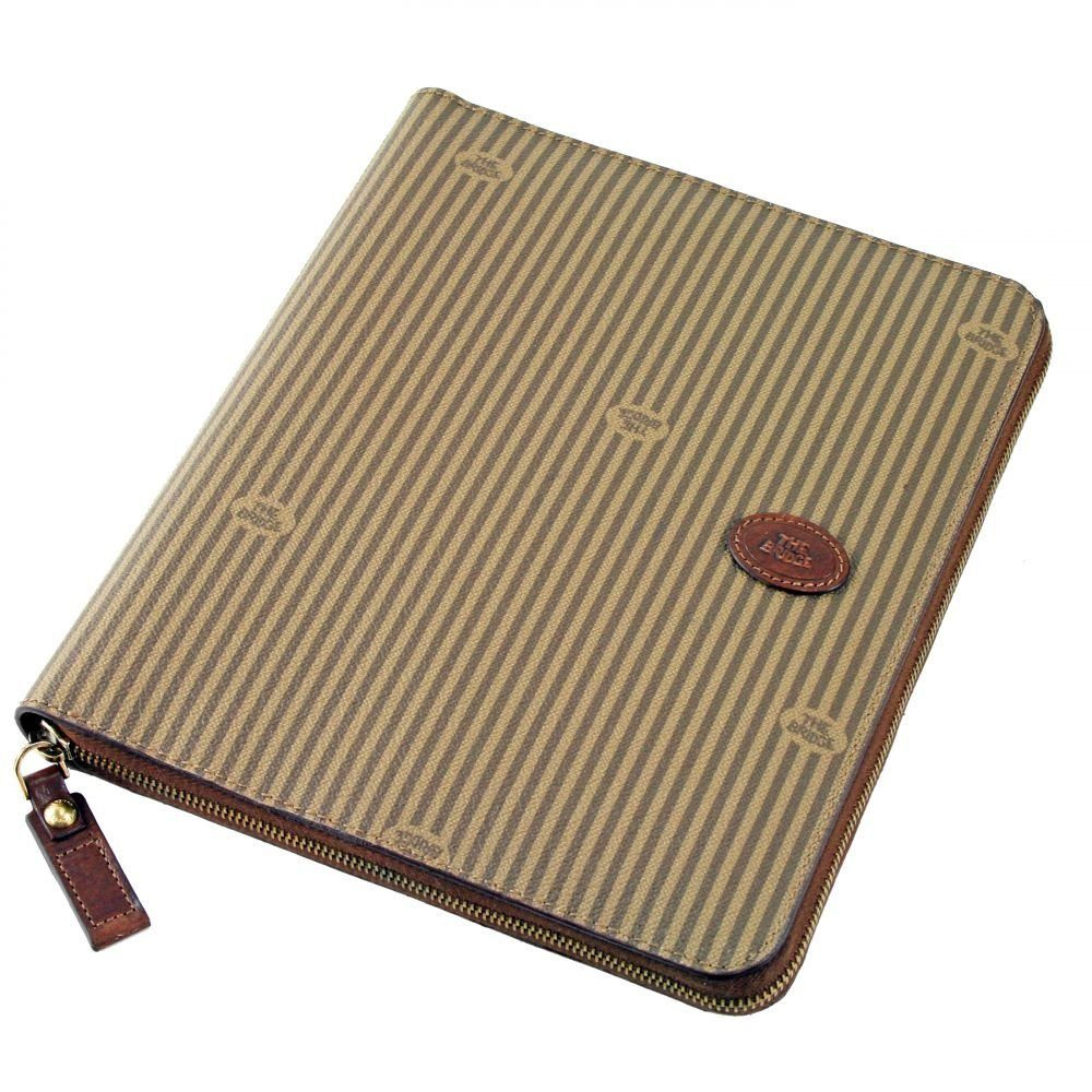 The Bridge Heritage Uomo IPad-Etui Leder 26x22 cm