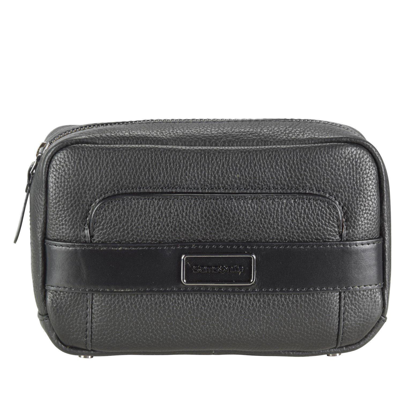 Samsonite Tuxedo Cosmetic Case Cosmetic-Pouch Kulturtasche Leder 20 cm