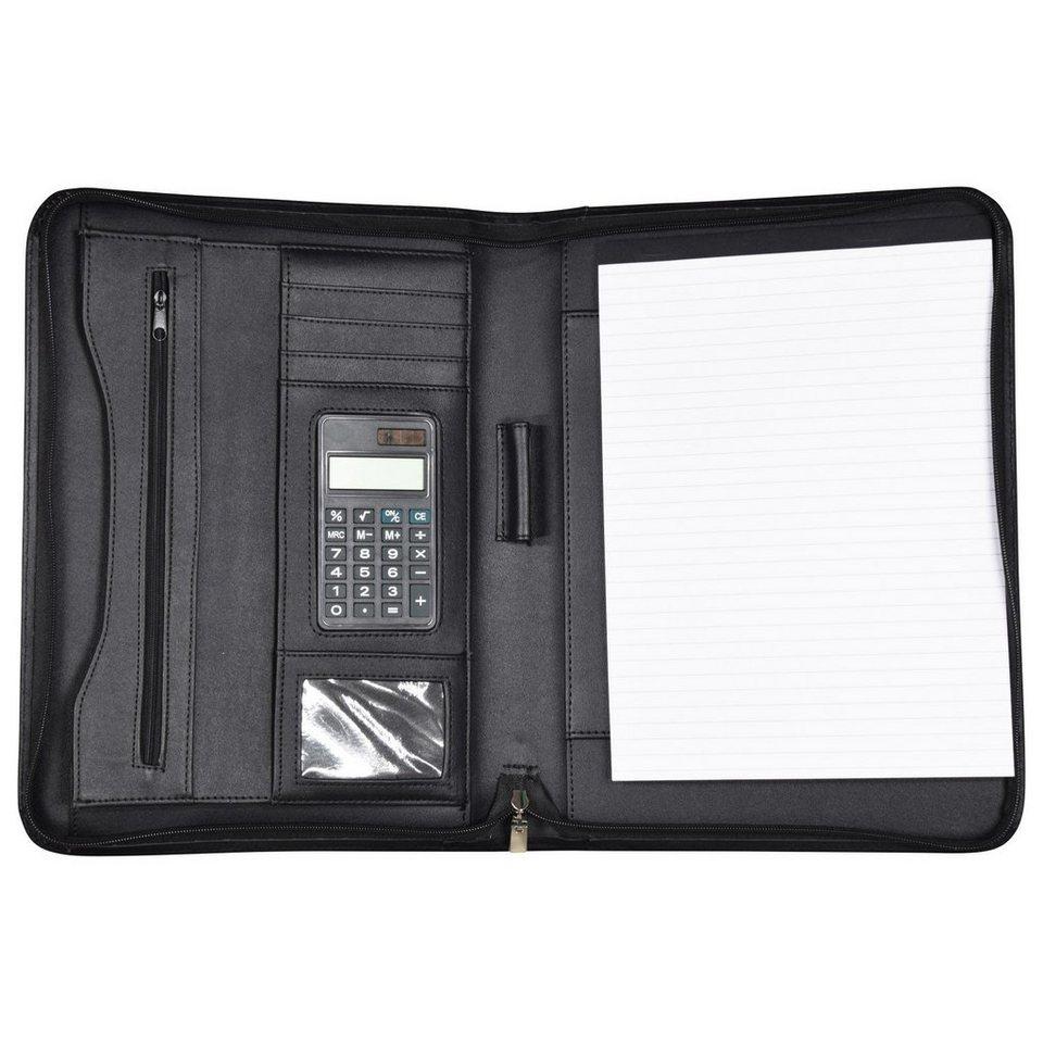 d & n Easy Business Schreibmappe 35 cm in schwarz