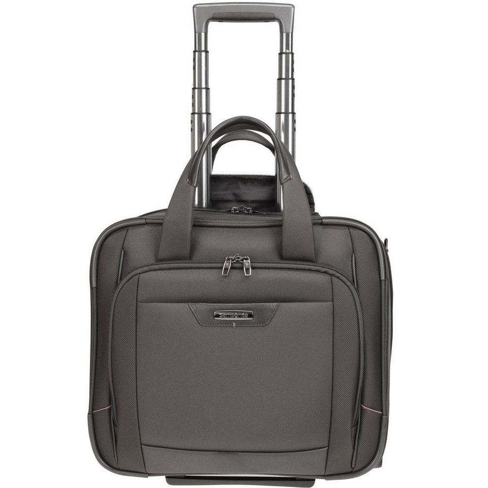 Samsonite Pro-DLX 4 2-Rollen Business Trolley 43cm Laptopfach in magnetic grey