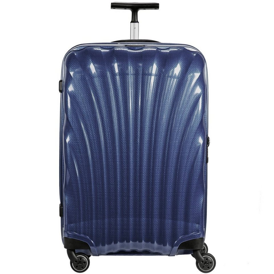 Samsonite Samsonite Lite-Locked Spinner 4-Rollen Trolley 75 cm in navy blue