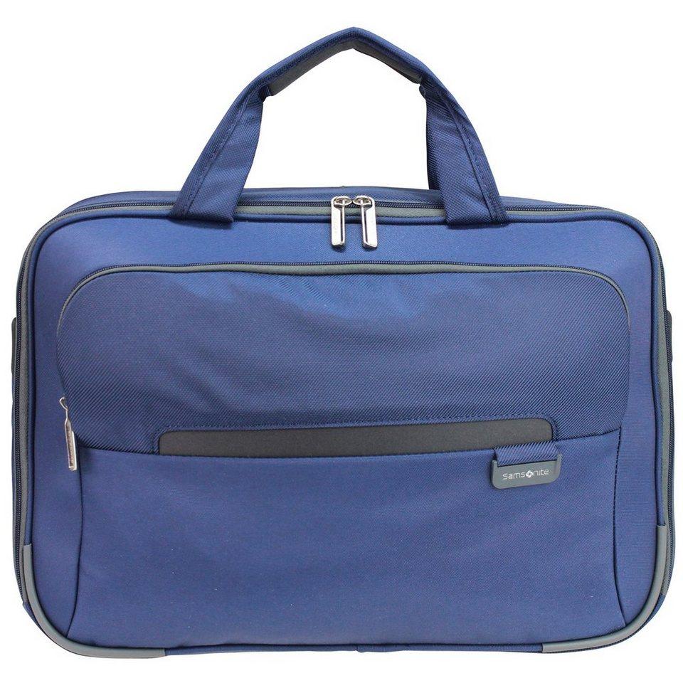 Samsonite Lumo Flugumhänger 39 cm Laptopfach in blue