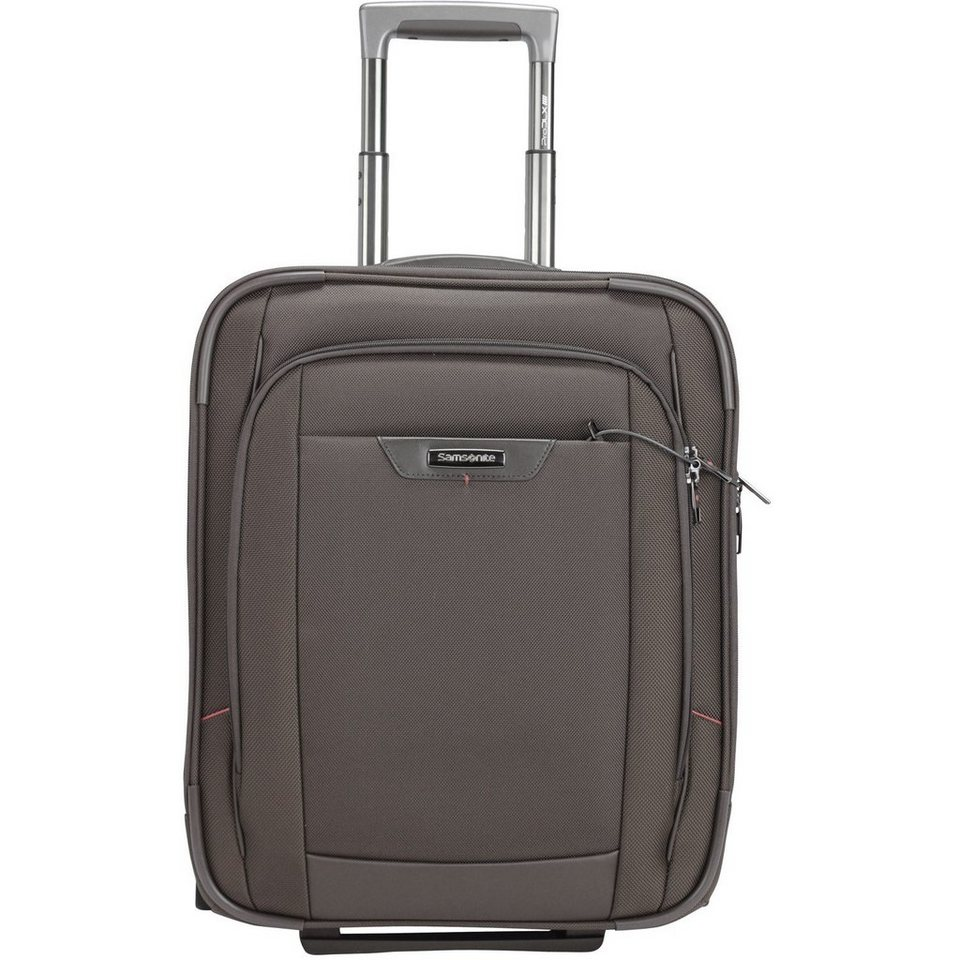 Samsonite Pro-DLX 4 2-Rollen Business Trolley 50cm Laptopfach in magnetic grey