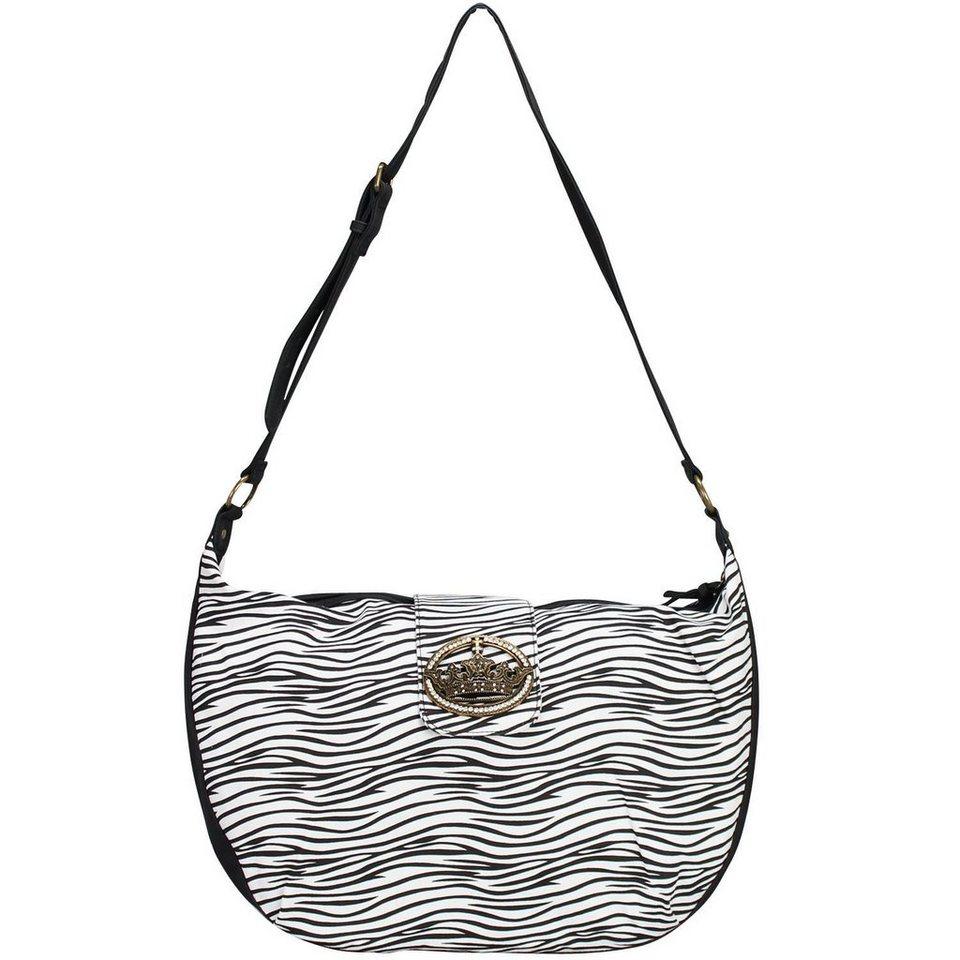 Friis & Company Classics Vol. 1402 Zebra Everyday Big Bag Umhängetasche 52 cm in zebra