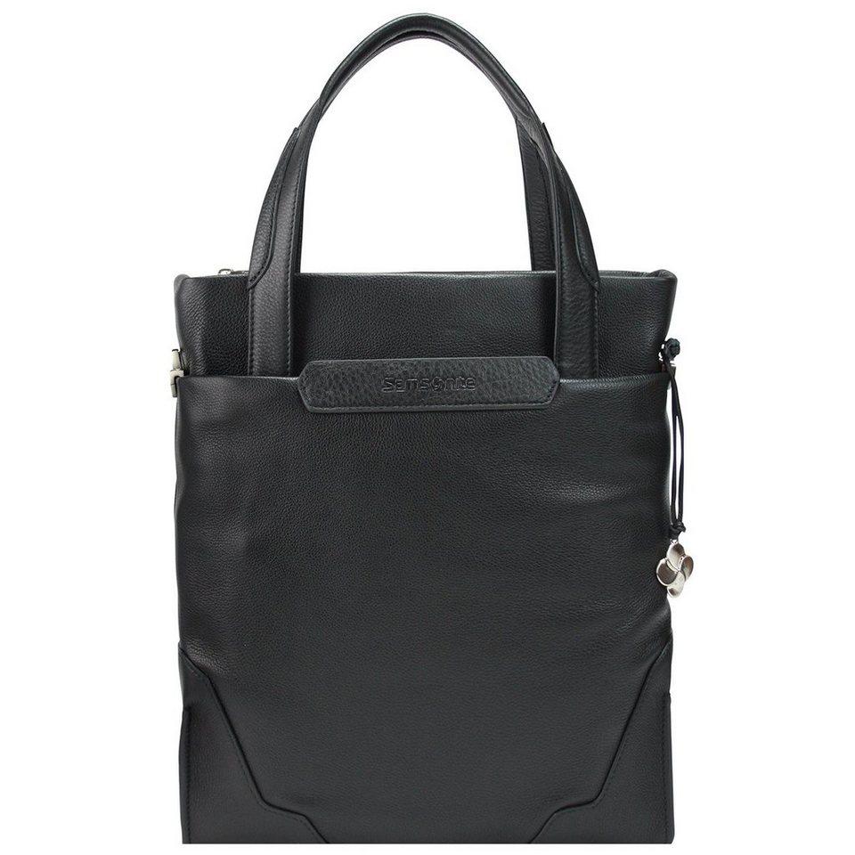 Samsonite Samsonite Sidaho Business Tasche Leder 40 cm Laptopfach in black