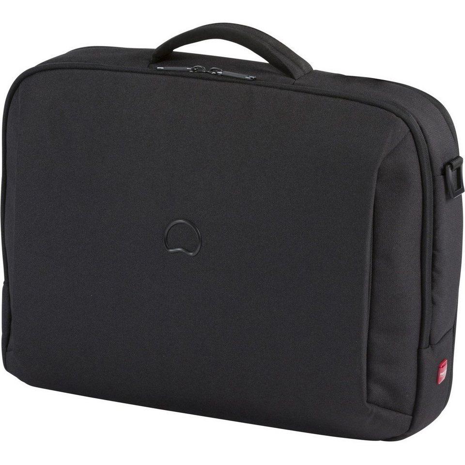 Delsey Mouvement Laptoptasche 40 cm in schwarz