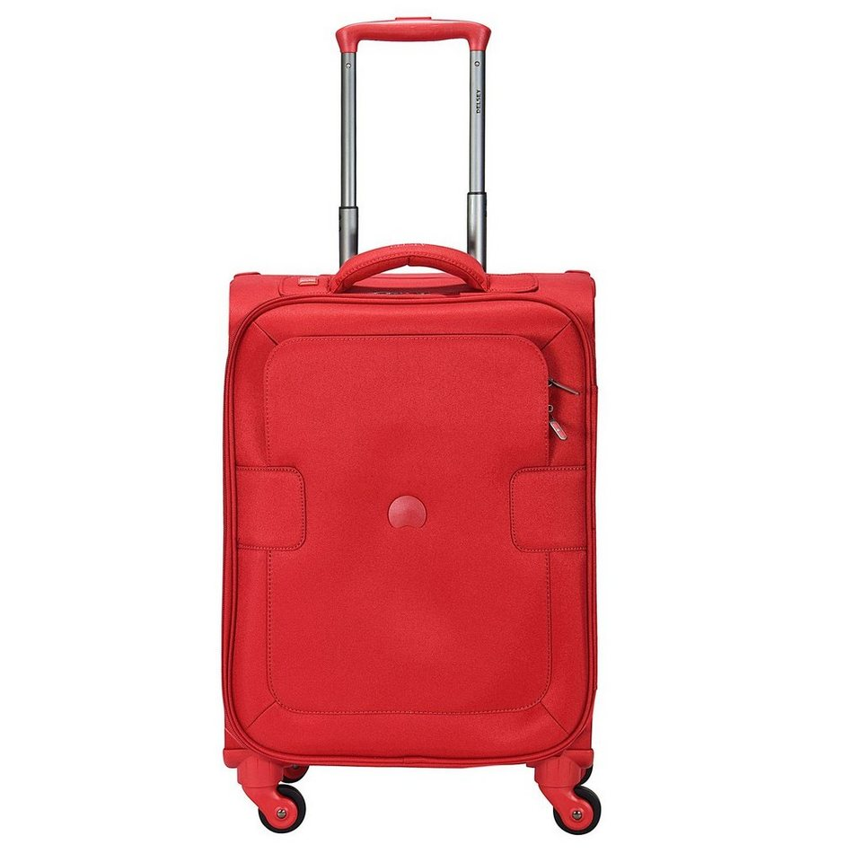 Delsey Delsey Tuileries 4-Rollen Kabinentrolley 55cm in rot