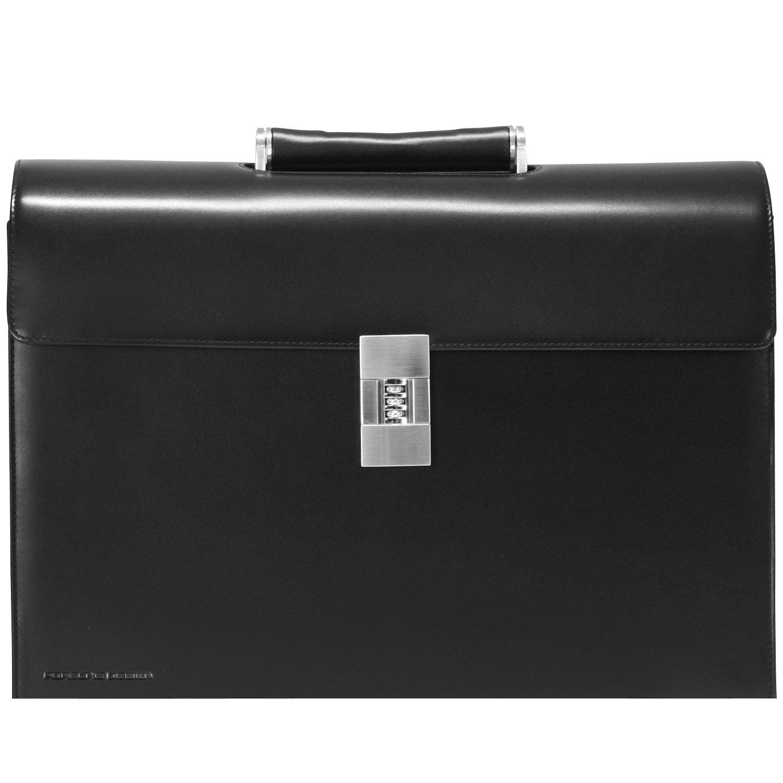 PORSCHE Design Classic Line ConferenceCase M Aktentasche Leder 40 cm Laptopfach