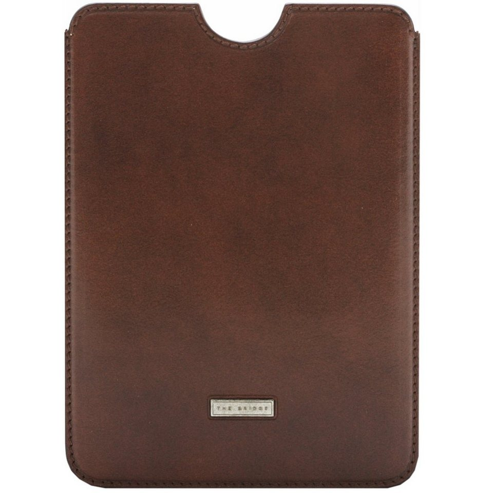 The Bridge Slg Story Line Mini iPad Case Leder 15,7 cm in marrone