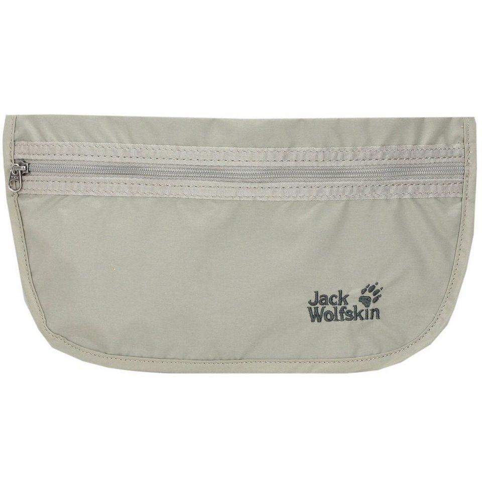 Jack Wolfskin Jack Wolfskin Travel Accessories Document Belt Gürteltasche 27 c in silvercolored mink