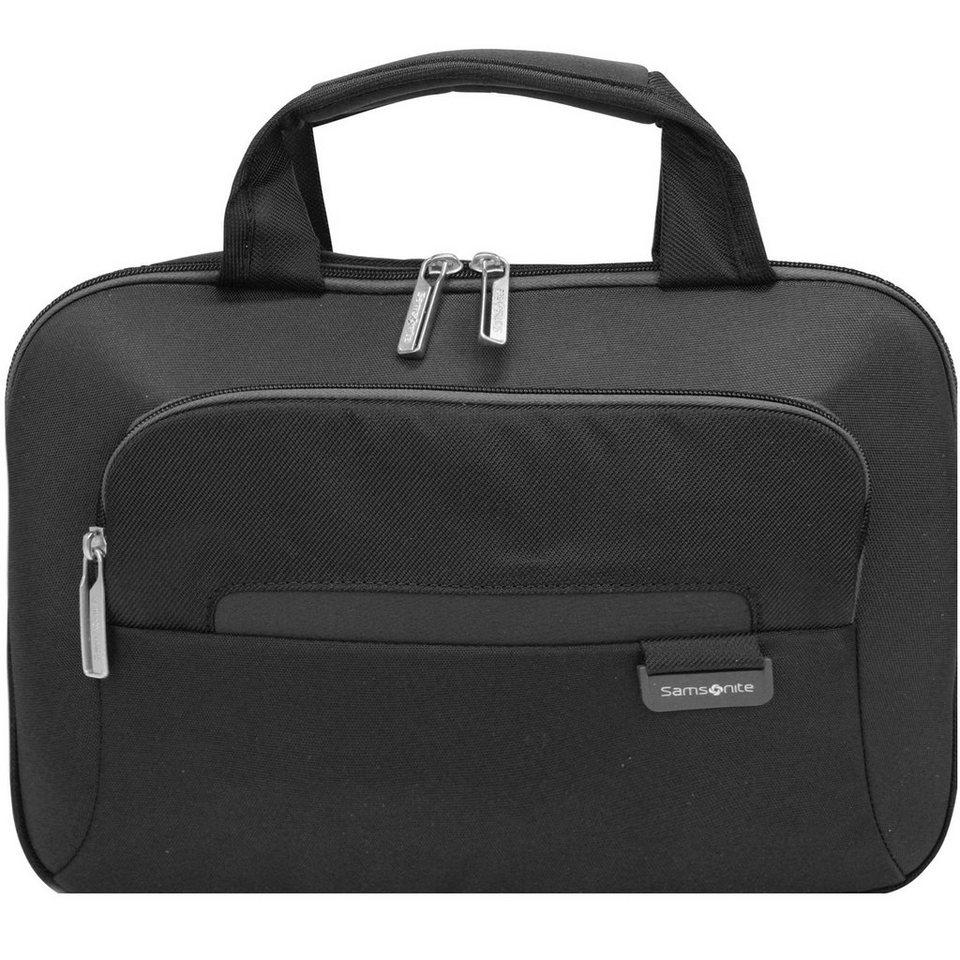 Samsonite Samsonite Lumo Umhängetasche 35 cm Laptopfach in black