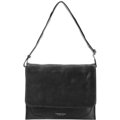 THE BRIDGE Raw Uomo Messenger Umhängetasche Leder 36 cm Laptopfach
