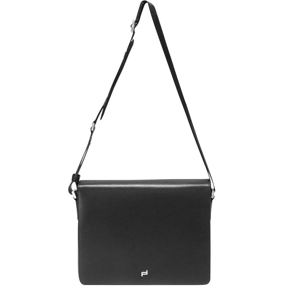 Porsche Design Porsche Design French Classic 3.0 Messenger FM Umhängetasche Led in black