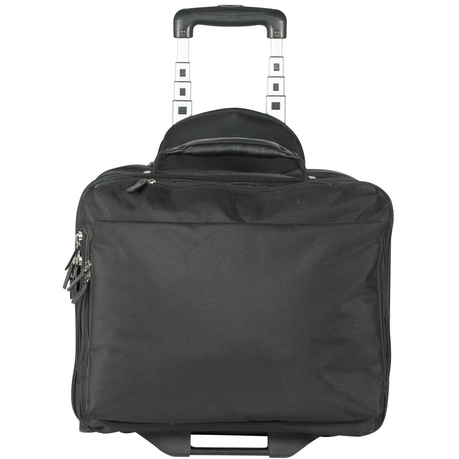 Leonhard Heyden IQ 2-Rollen Businesstrolley 2-Rollen L 46 cm Laptopfach