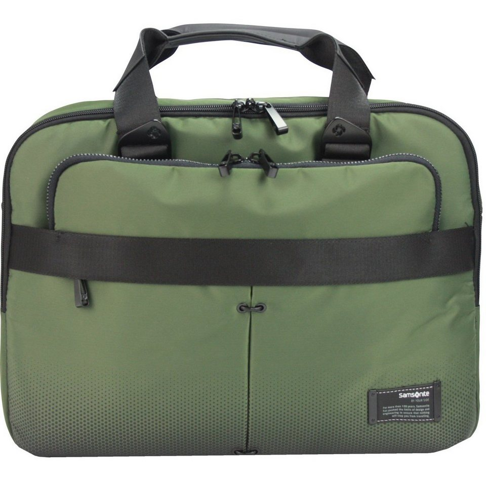Samsonite Samsonite Cityvibe Businesstasche 43 cm Laptopfach in urban green