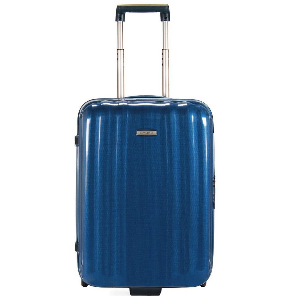 Samsonite Lite-Cube Upright 2-Rollen Kabinentrolley 55 cm in electric blue