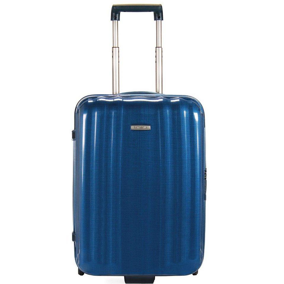 Samsonite Samsonite Lite-Cube Upright 2-Rollen Kabinentrolley 55 cm in electric blue
