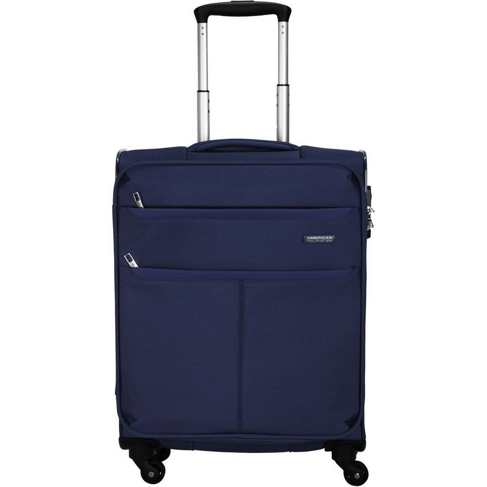 American Tourister Colora III Spinner 4-Rollen Kabinentrolley 55 cm in navy blue
