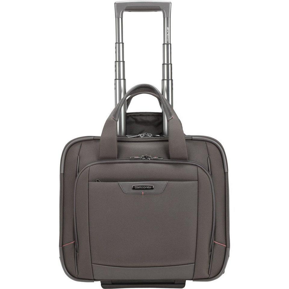 Samsonite Pro-DLX 4 2-Rollen Business Trolley 43cm Laptopfach in magnetic grey