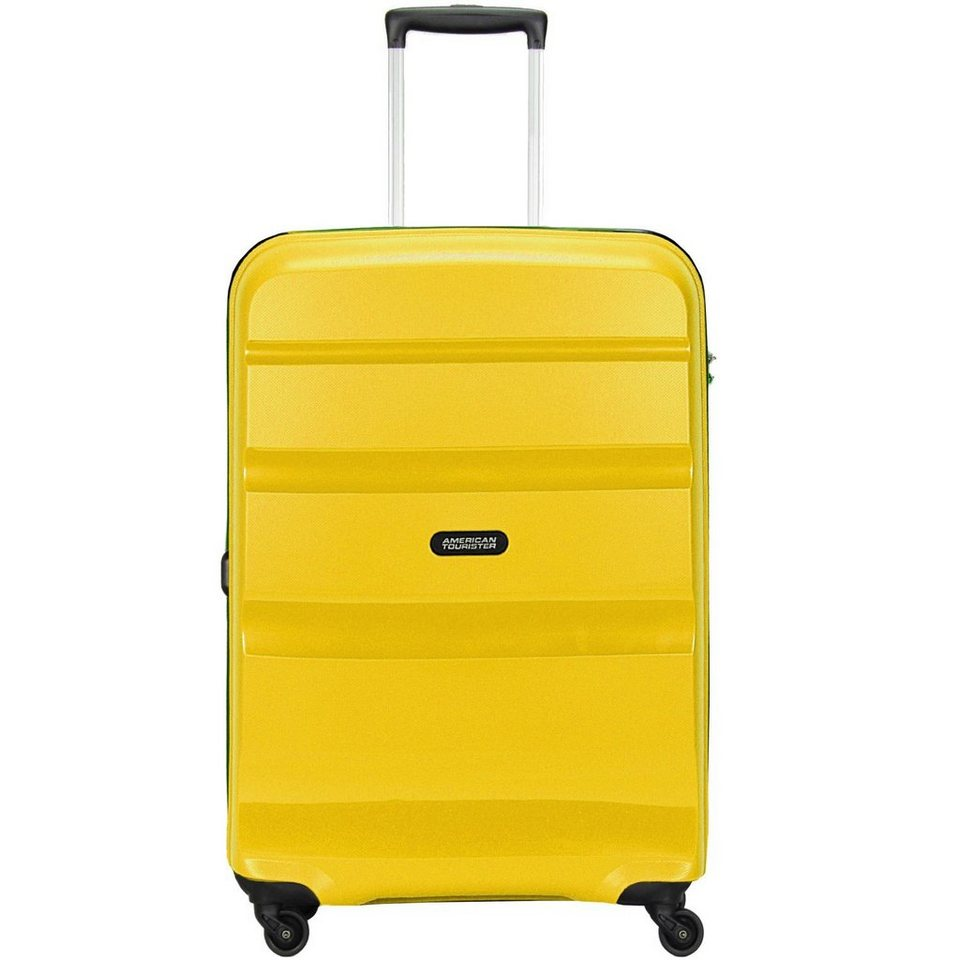 American Tourister Bon Air Spinner 4-Rollen Trolley 66 cm in solar yellow