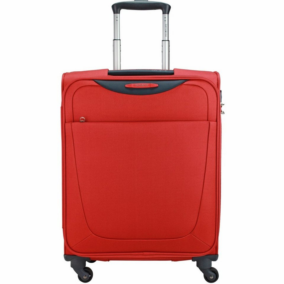 Samsonite Base Hits Spinner 4-Rollen Kabinentrolley 55cm in lava red