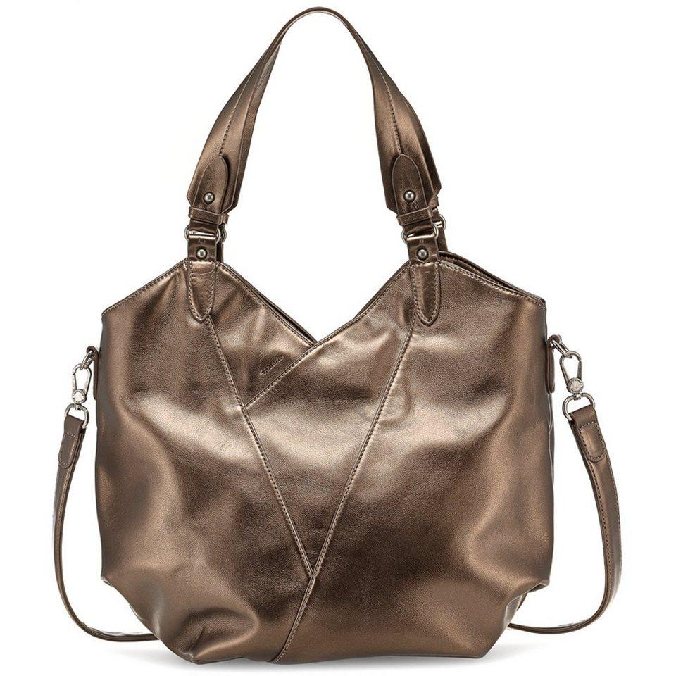 tamaris Reiko Shopper Tasche 40 cm in bronzefarben