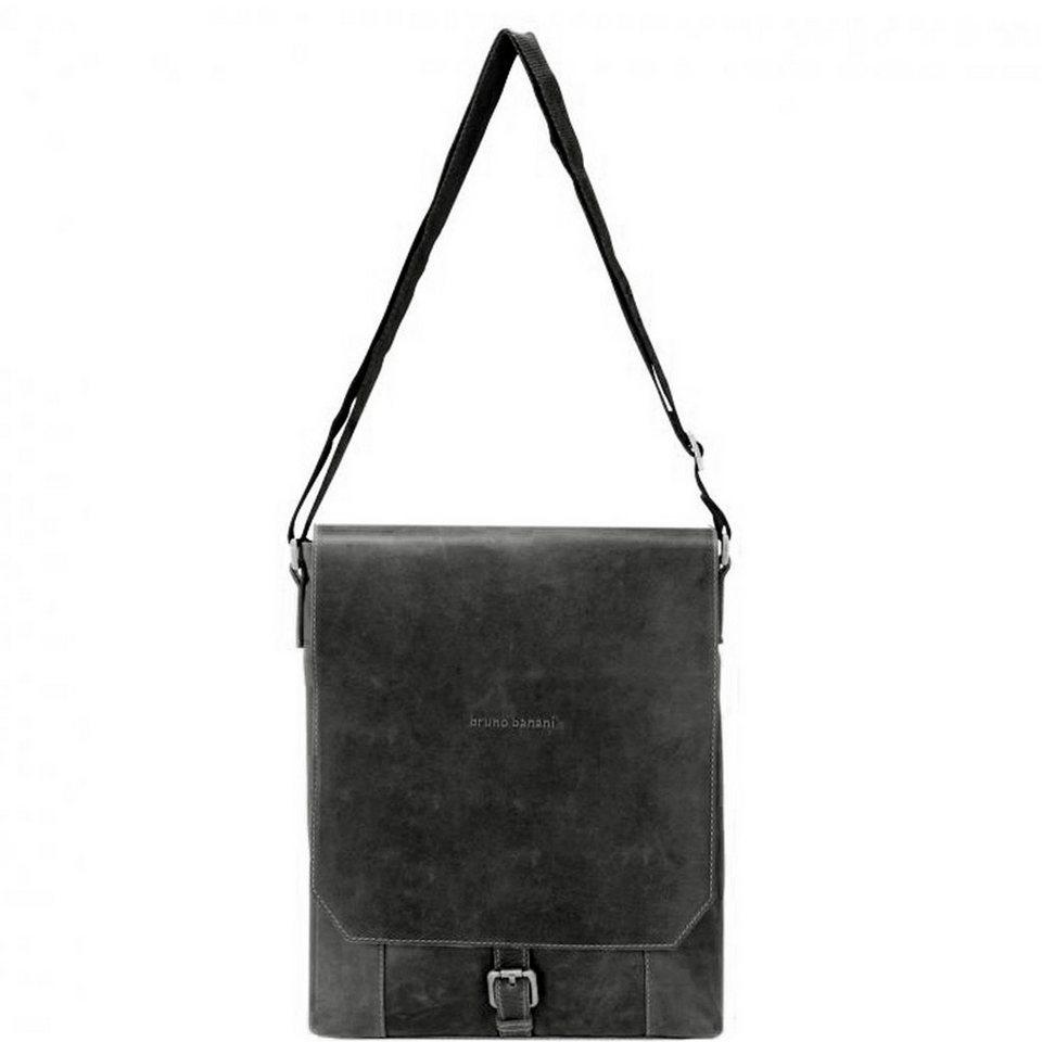 BRUNO BANANI Quietness Umhängetasche Leder 26 cm in black