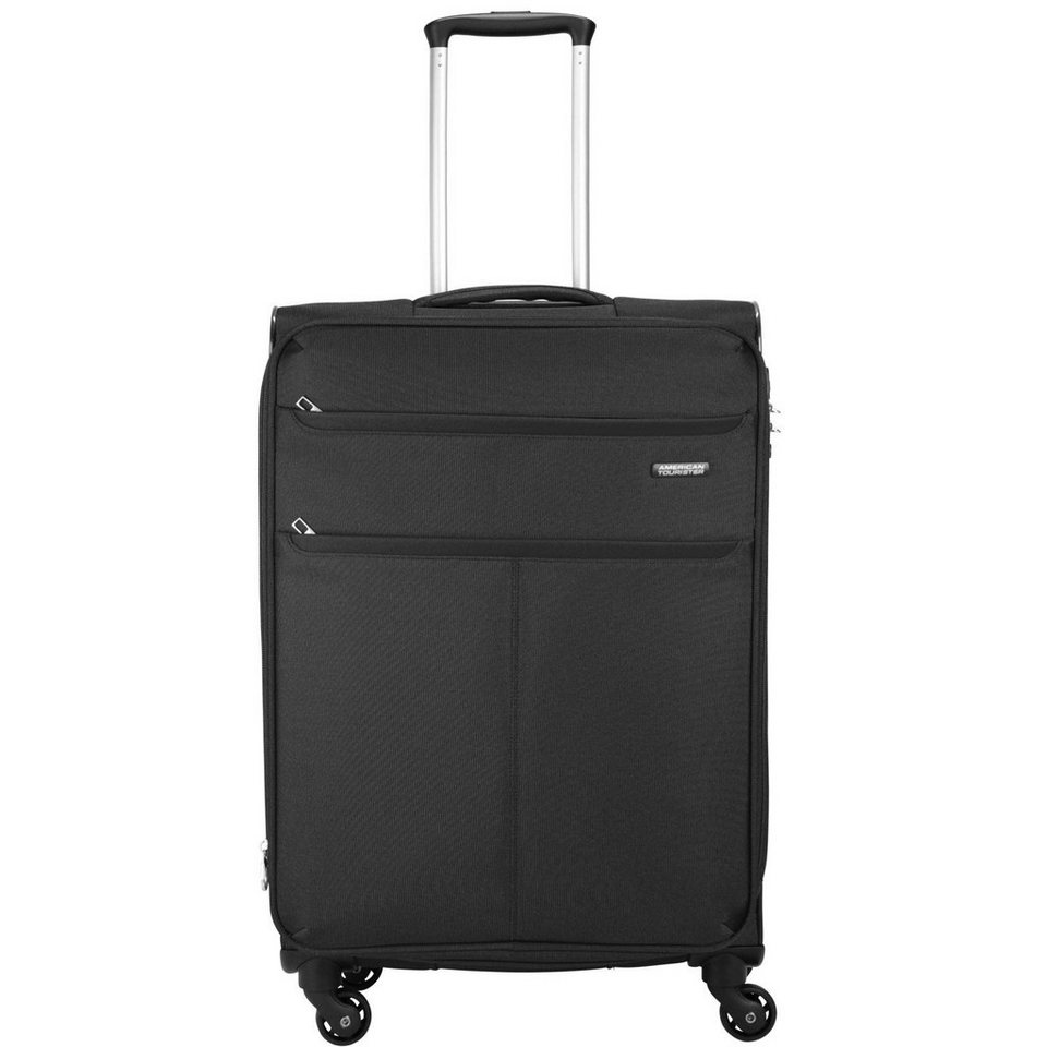 American Tourister Colora III Spinner 4-Rollen Trolley 66 cm in black