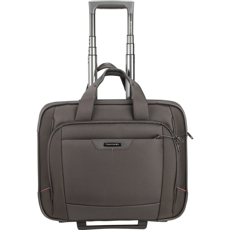 Samsonite Samsonite Pro-DLX 4 2-Rollen Business Trolley 47cm Laptopfach in magnetic grey