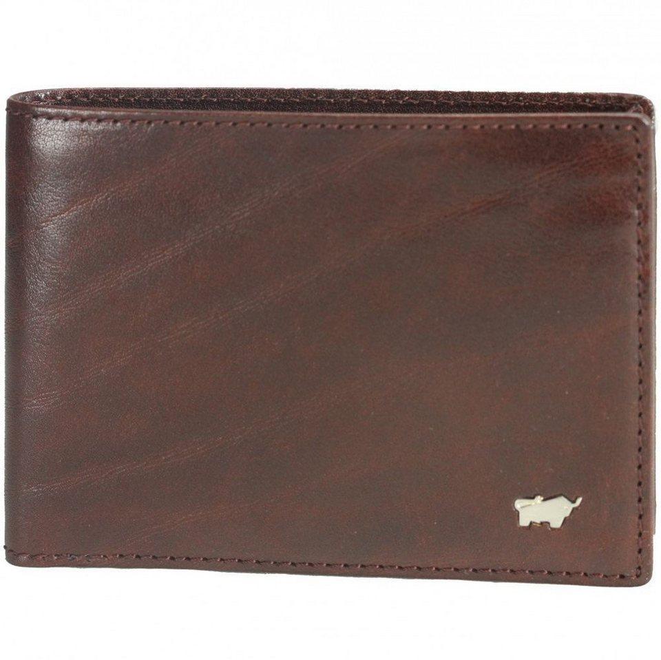 Braun Büffel Braun Büffel Basic Geldbörse Leder 12 cm in palisandro