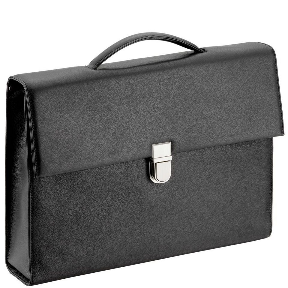 d & n d&n Business Line Aktentasche 40 cm in schwarz