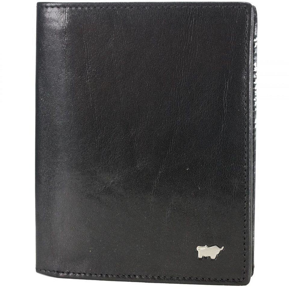 Braun Büffel Braun Büffel Basic Geldbörse Leder 10 cm in schwarz