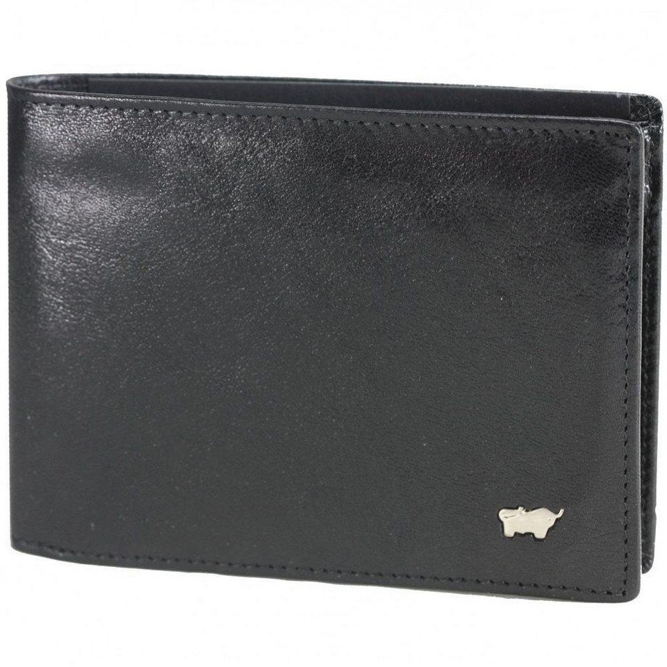 Braun Büffel Braun Büffel Basic Geldbörse Leder 12 cm in nachtschwarz