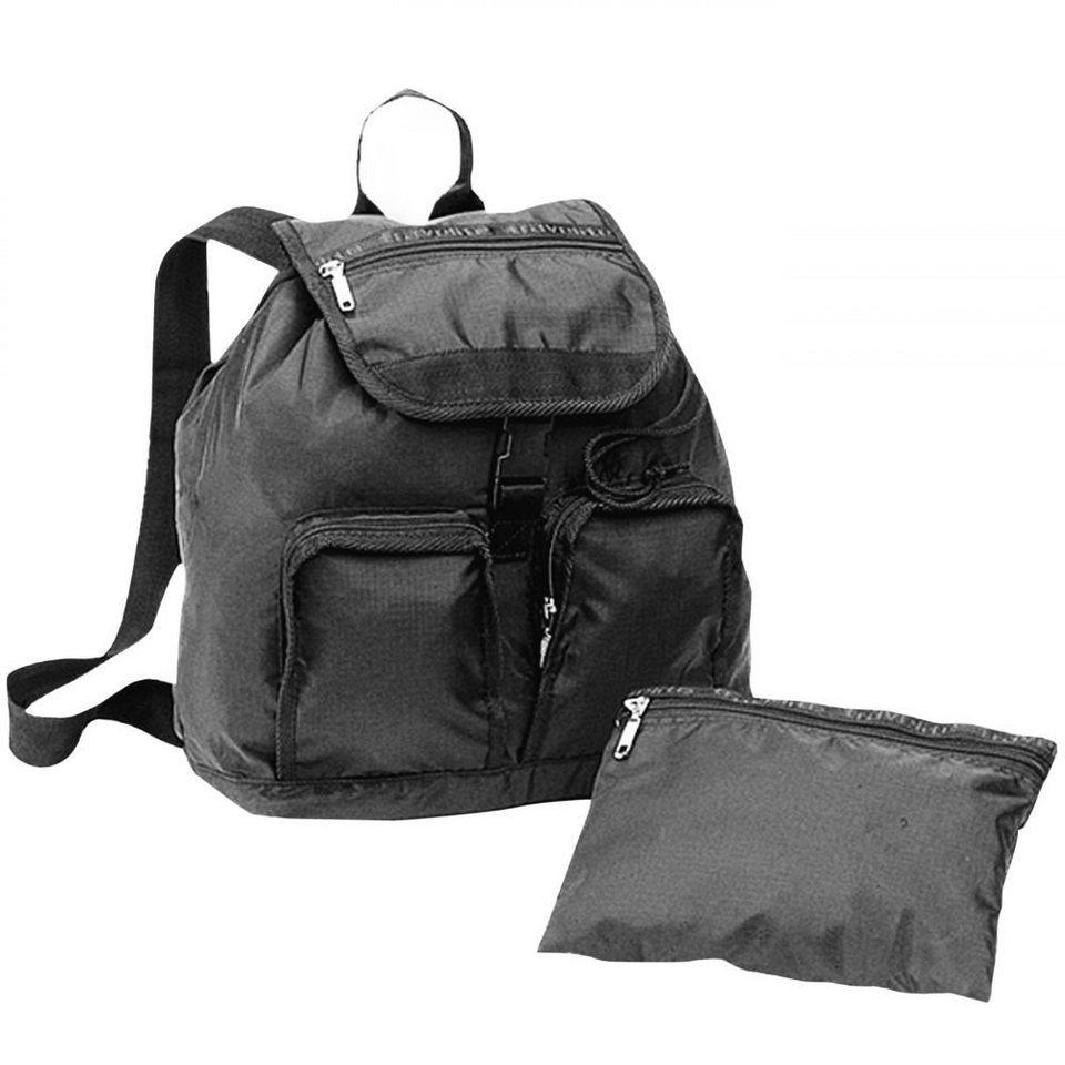 travelite MiniMax Falt-Rucksack 40 cm in schwarz