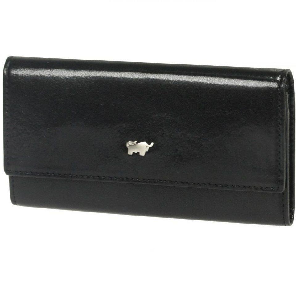 Braun Büffel Braun Büffel Basic Schlüsseletui Leder 10 cm in schwarz