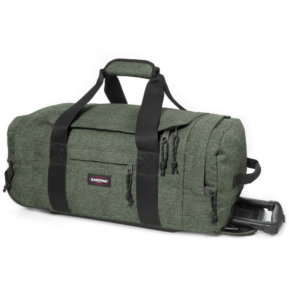 Eastpak Eastpak Authentic Collection Leatherface S 2-Rollen Reisetasche in armylange