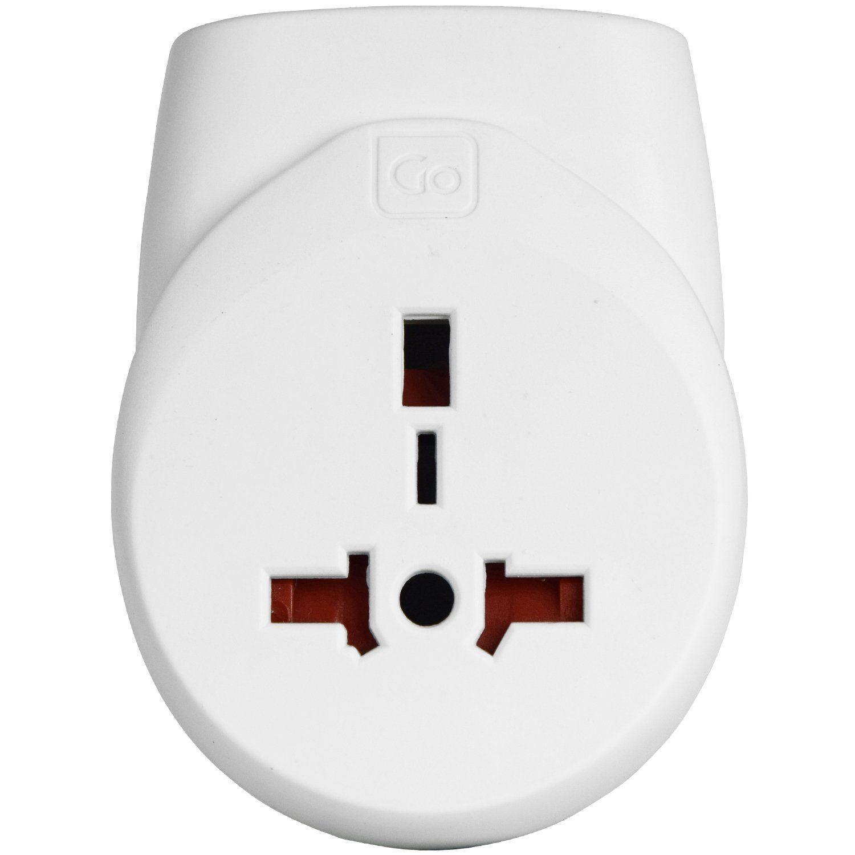 Go Travel Elektro + Elektronikgeräte Doppel-USB Adapter UK