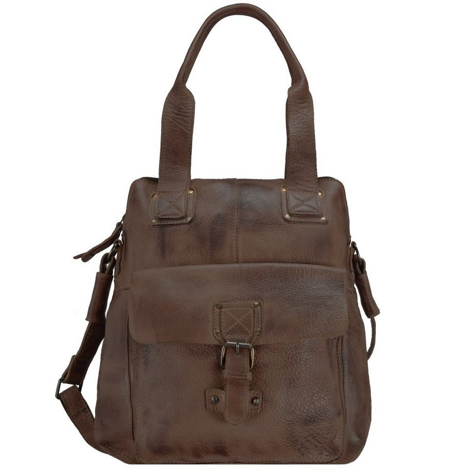 Billy the Kid Billy the Kid Panamerica Handtasche Leder 32 cm in brown