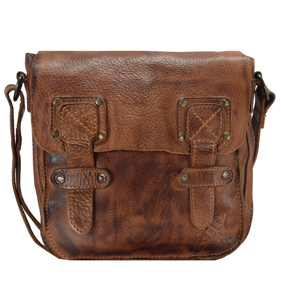 Billy The Kid Panamerica Umhängetasche Leder 22 cm in cognac