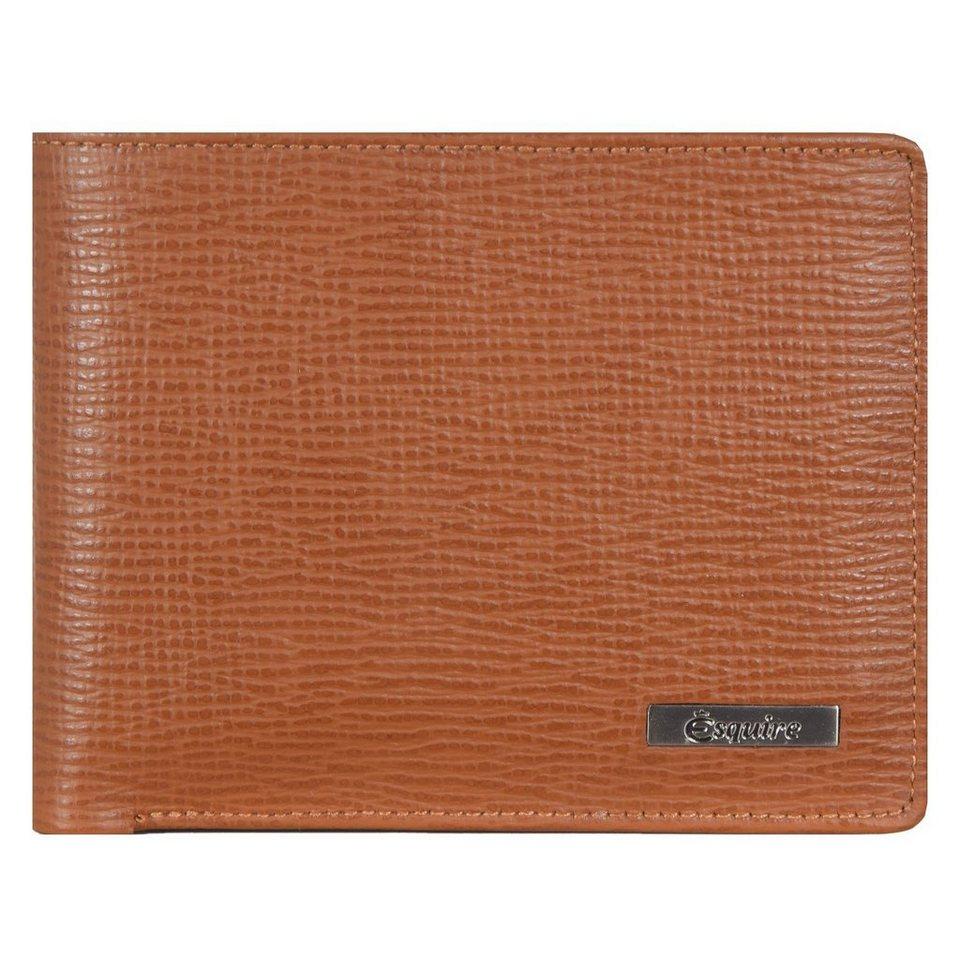 Esquire Esquire Boston Geldbörse Leder 11,5 cm in cognac