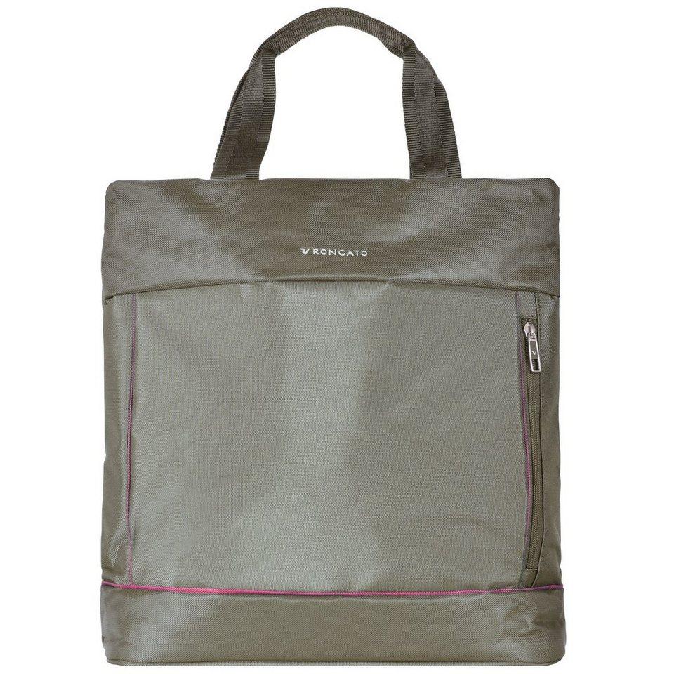 Roncato Roncato Connection Shopper Rucksack Tasche 33 cm in ecru