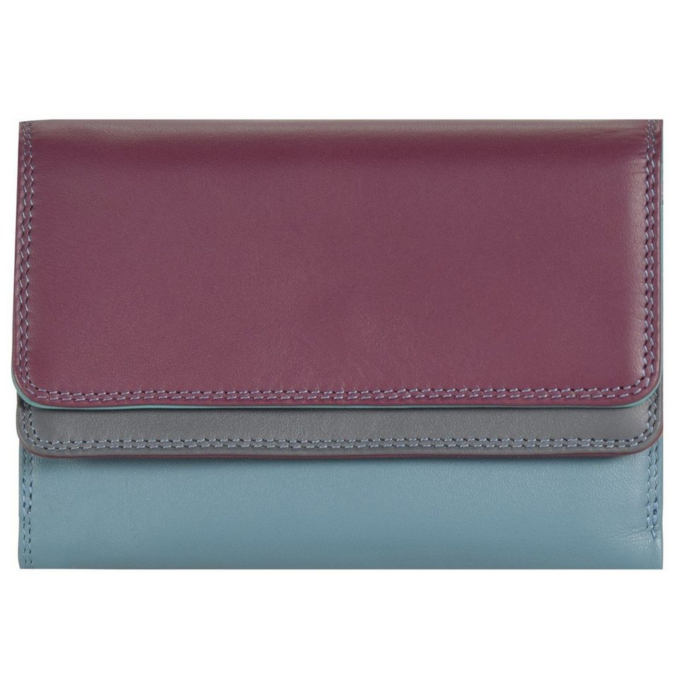 Mywalit Double Flap Wallet Geldbörse Leder 13 cm in winterberry