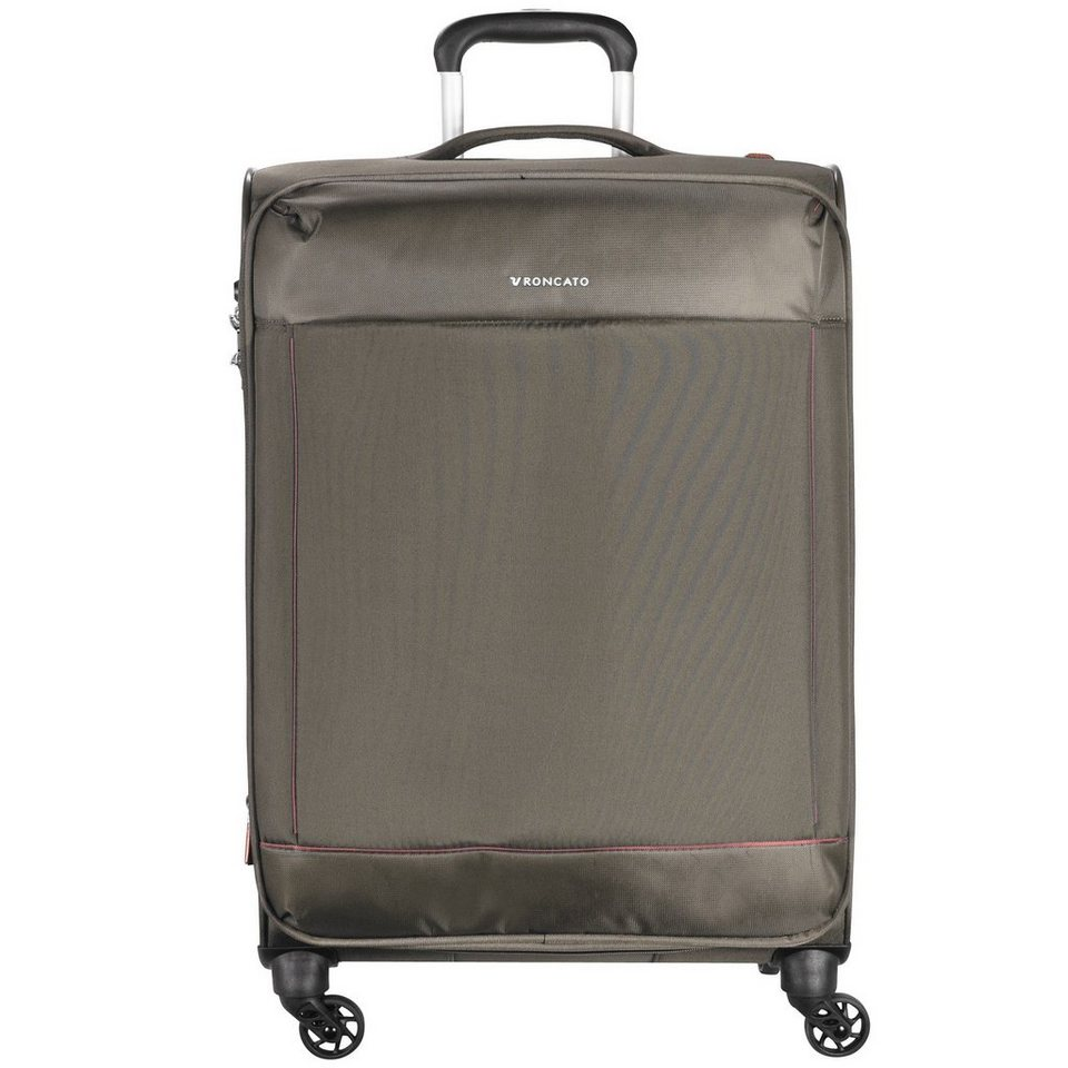 RONCATO Connection 4-Rollen Trolley 78 cm in ecru