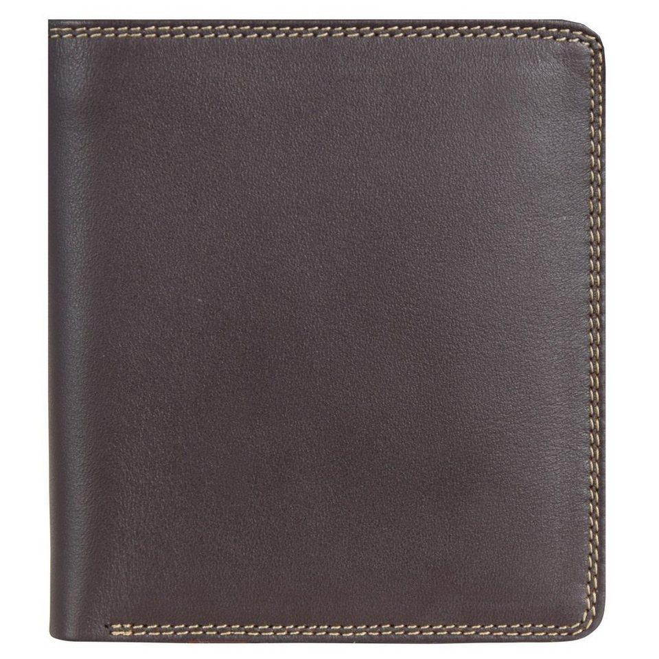 Mywalit Standard Wallet Geldbörse Leder 10 cm in safari multi