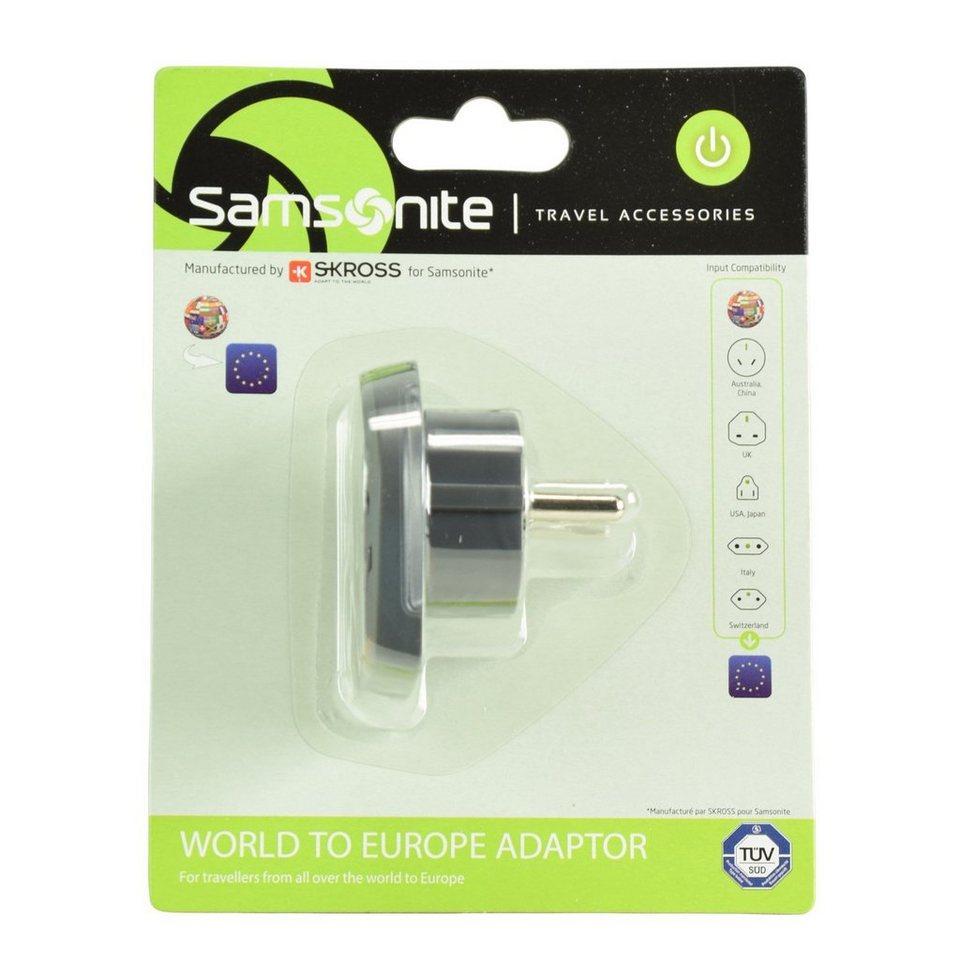 Samsonite Samsonite Travel Accessories World-Europe Adapter in graphite