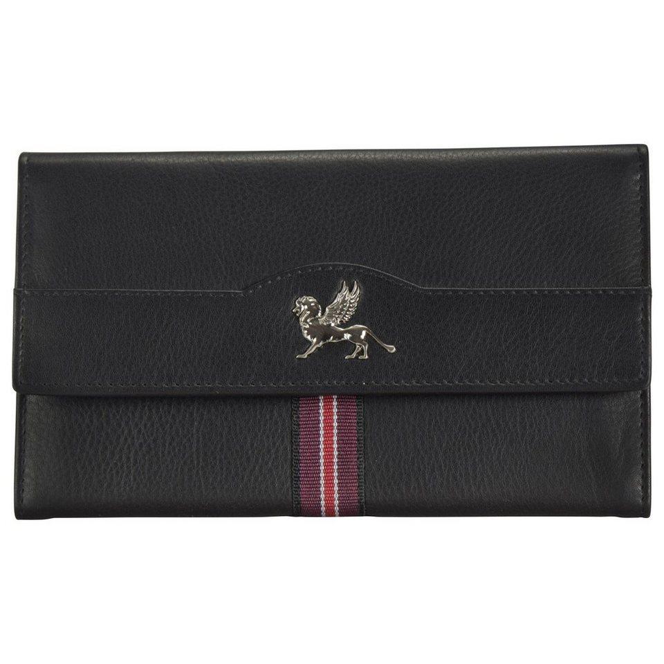 mano mano Signum Women Geldbörse Leder 18 cm in schwarz