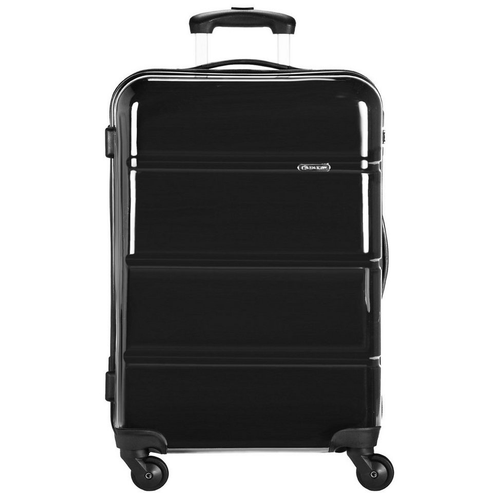 CHECK.IN CheckIn Paris 2.0 4-Rollen Trolley 78 cm in schwarz