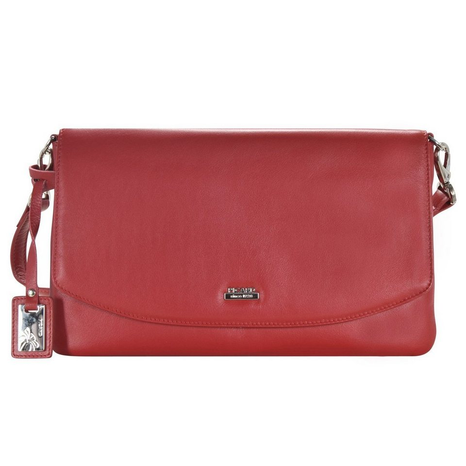 Picard Really Umhängetasche Leder 28 cm in rot