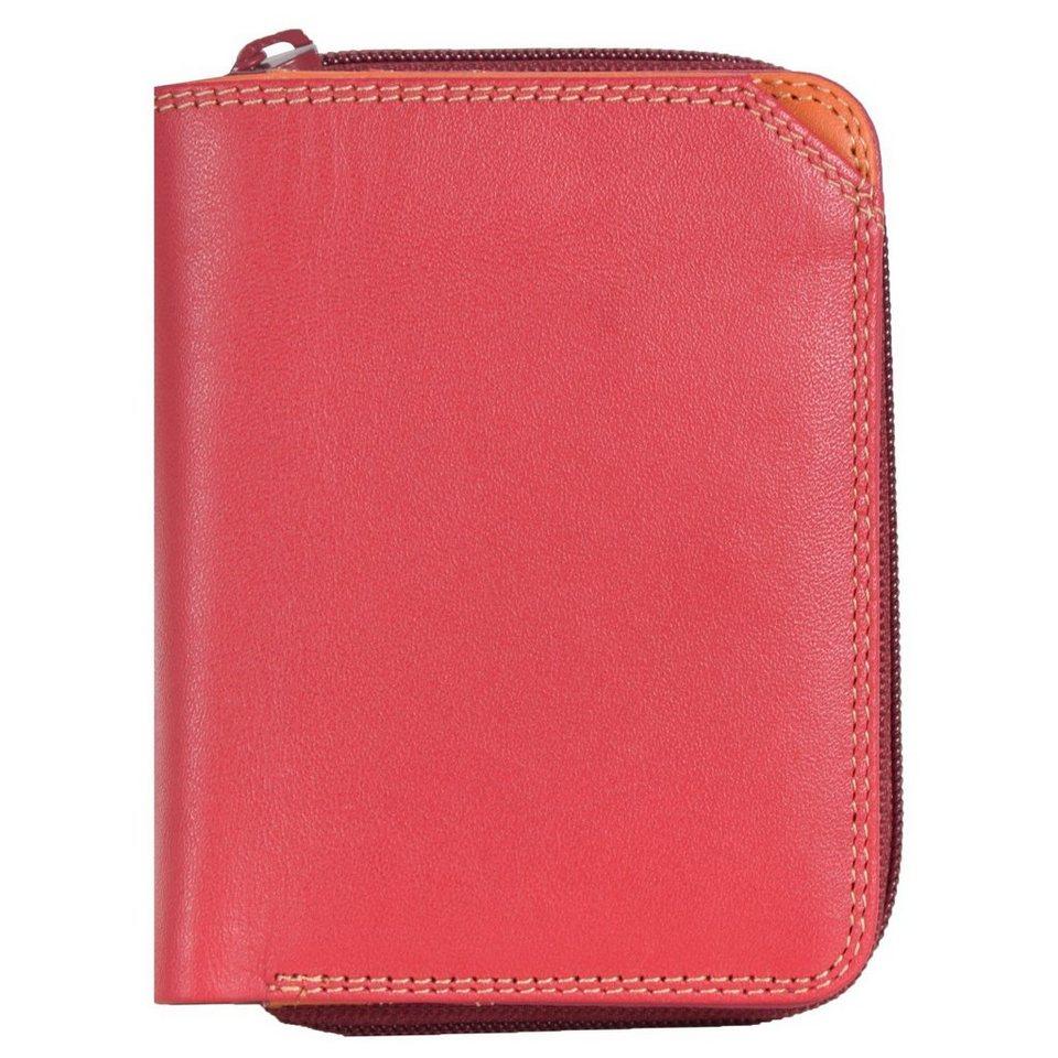 Mywalit mywalit Small Wallet Geldbörse Leder 10 cm in berry blast