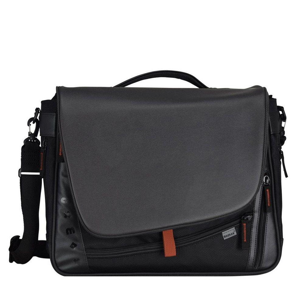 oxmox oxmox Touch-It Umhängetasche 41 cm Laptopfach in schwarz